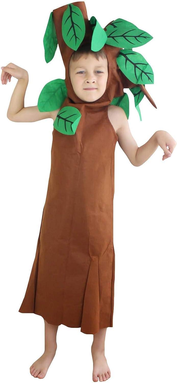Petitebelle Verduras de Halloween de frutas de Navidad del partido del traje unisex Ropa de vestir Un tamaño Árbol 7-10years