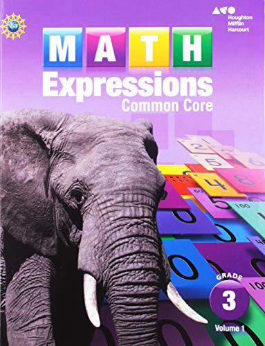 - Math Expressions Student Activity Book: Grade 3, Vol. 1