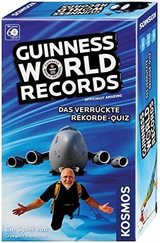KOSMOS - Guinness World Records 711 092 - El Loco World Records Concurso, Mitbringspiel: Amazon.es: Juguetes y juegos