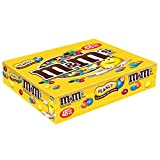 M&M'S Peanut Chocolate Candy Singles Size Pouches 1.74-Ounce Pouch 48-Count Box