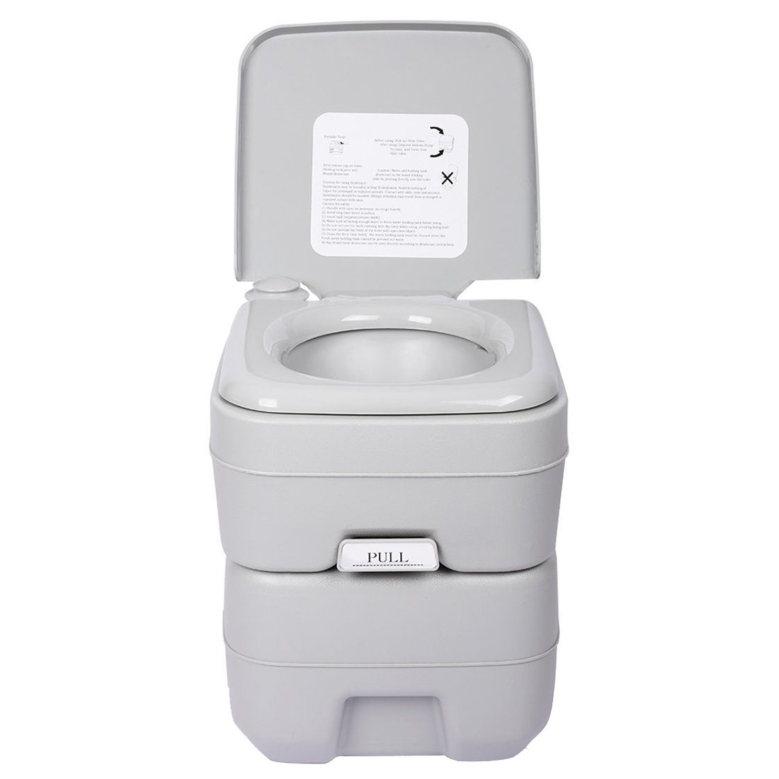 5 Gallon 20L Portable WC Toilet - TOOGOO(R) 5 Gallon 20L Portable WC Toilet Flush Camping Porta Travel Outdoor Hiking Potty by TOOGOO(R) (Image #3)