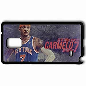 Personalized Samsung Note 4 Cell phone Case/Cover Skin 14730 knicks wp 41 sm Black