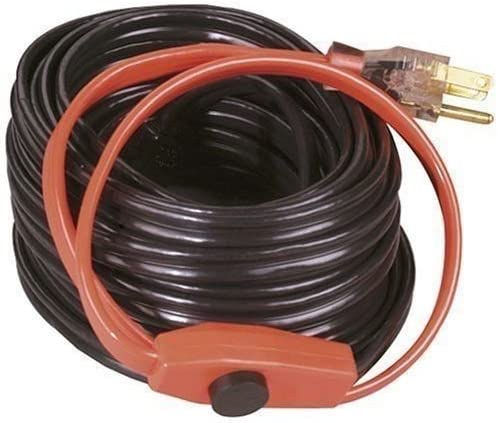 Easy Heat AHB-016A 6 Foot Water Pipe Freeze Protection Heating Cable Heat Tape K