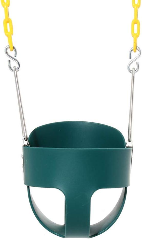 BLKykll Columpio para Bebés, 28 * 25.4 * 29.2Cm, Carga Máxima 200 Kg,Verde