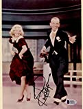 """Ginger Rogers Autographed 8""""x 10"""" Swing Time Dancing Photograph - BAS"""