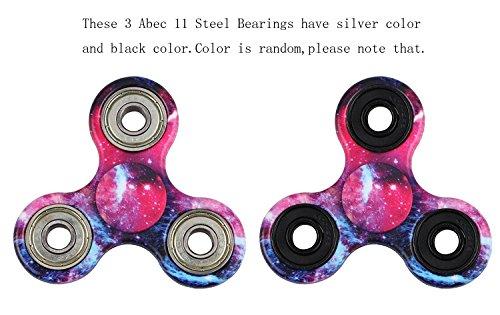 MILKY WAY New Style Tri-Spinner Fidget Toy with Premium Hybrid Ceramic Bearing, Galaxy
