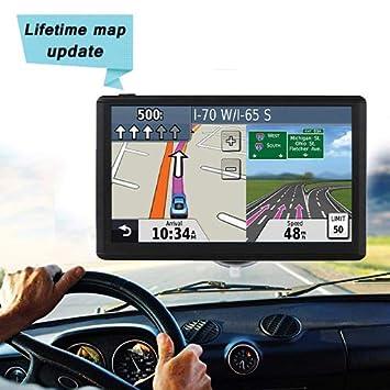 GPS de Coches y Moto Navigation Pantalla LCD Capacitiva De 7 Pulgadas Automovil ,Mapa De