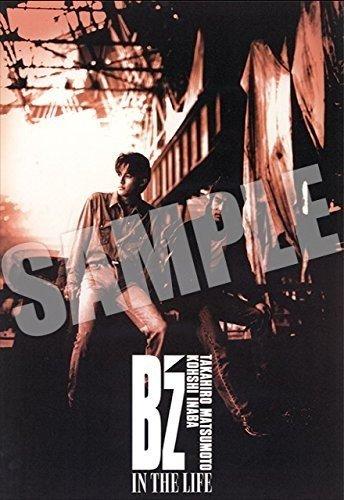B'z 30th Year Ehibition SCENES 1988-2018 限定 B2 サイズ ポスター IN THE LIFE ビーズ