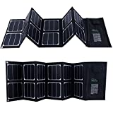 KINGSOLAR™ Highest Efficient 40W Foldable Solar Panel Portable Solar Charger Dual Output (USB Port + DC Output)