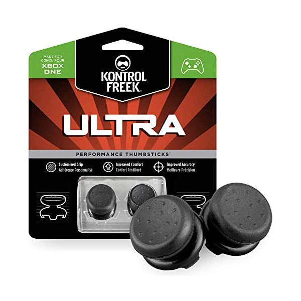 KontrolFreek Ultra for Xbox One and Xbox Series X Controller | Performance Thumbsticks | 2 High-Rise Concave | Black 1