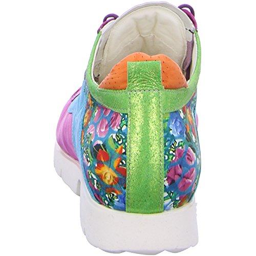 Think renna Donna Schnürhalbschuh Sneakers Multicolore vwqw7Wr04