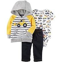 Carter's Baby Boys` 3-Piece Little Jacket Set