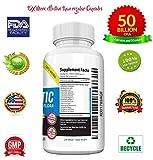 Nutrients Hub Probiotics 50 Billion CFUs 14 Strains, #1 High Potency Organic Supplement | All Natural, Gluten Free, NON-GMO Vegan Flora Digestive Probiotics for WOMEN MEN KIDS Enteric (50 Capsules)