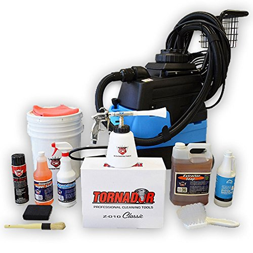 (Detail King Mytee Lite III 8070 Extractor & Tornador Interior Cleaning Tool Value Package)