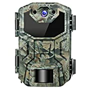 #LightningDeal 91% claimed: Victure Trail Game Camera 16MP 1080P IP66 Upgrade Waterproof Design No Glow Hunting Scouting Cam with Night Vision Motion Activated for Wildlife Monitoring and Home Surveillance