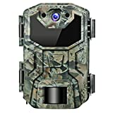 Victure Trail Game Camera 16MP Night Vision Motion Activated with Upgrade Waterproof Design