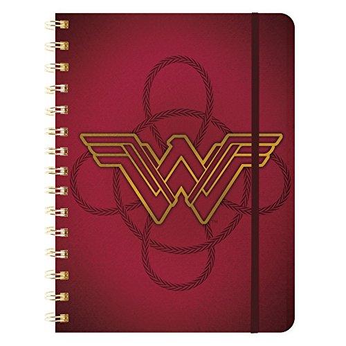 2018 Weekly Note Planner Wonder Woman