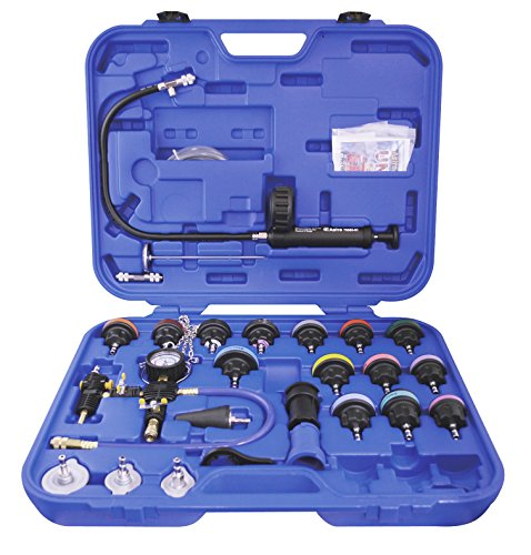 l Radiator Pressure Tester and Vacuum Type Cooling System Kit ()