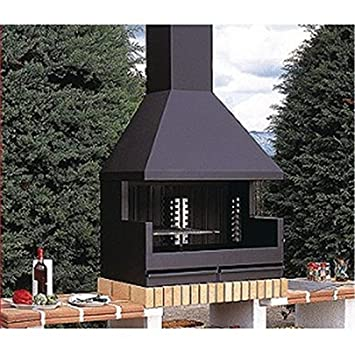 Barbecue Modle Fornells Extrieur Inox Sans La Hotte AmazonFr