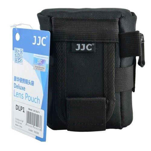 JJC DLP-1 Deluxe Lens Pouch F Sony Canon Nikon 50mm 60mm 18-55mm 40mm 10-100mm Panasonic Olympus 14-42mm 40-150mm