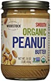 Woodstock Organic Smooth Peanut Butter, 16 oz