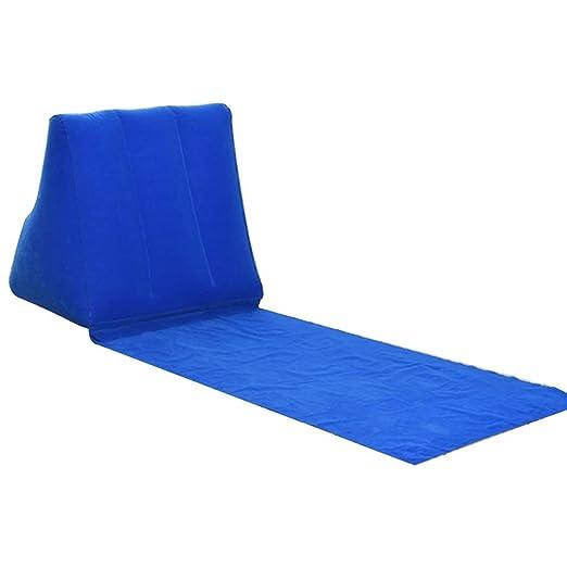 Hinchable Triangular Cuña Playa Chaise Longue Cojín Playa Felpudo ...
