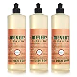 Mrs. Meyer's Clean Day Liquid Dish Soap - Geranium - 16 oz - 3 pk