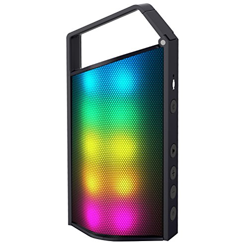 Dynamic Card - Zhicity Portable Bluetooth Speakers LED TF Card Mini Subwoofer
