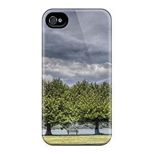 New Fashionable Phone Case Cover Case Specially Made For Iphone 4/4s(three Tree)