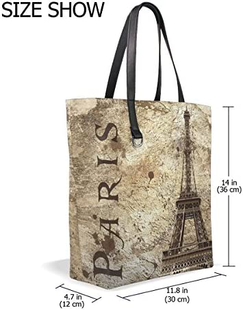 ALAZA Italy Leaning Tower of Pisa Tote Bag Purse Handbag for Women Girls