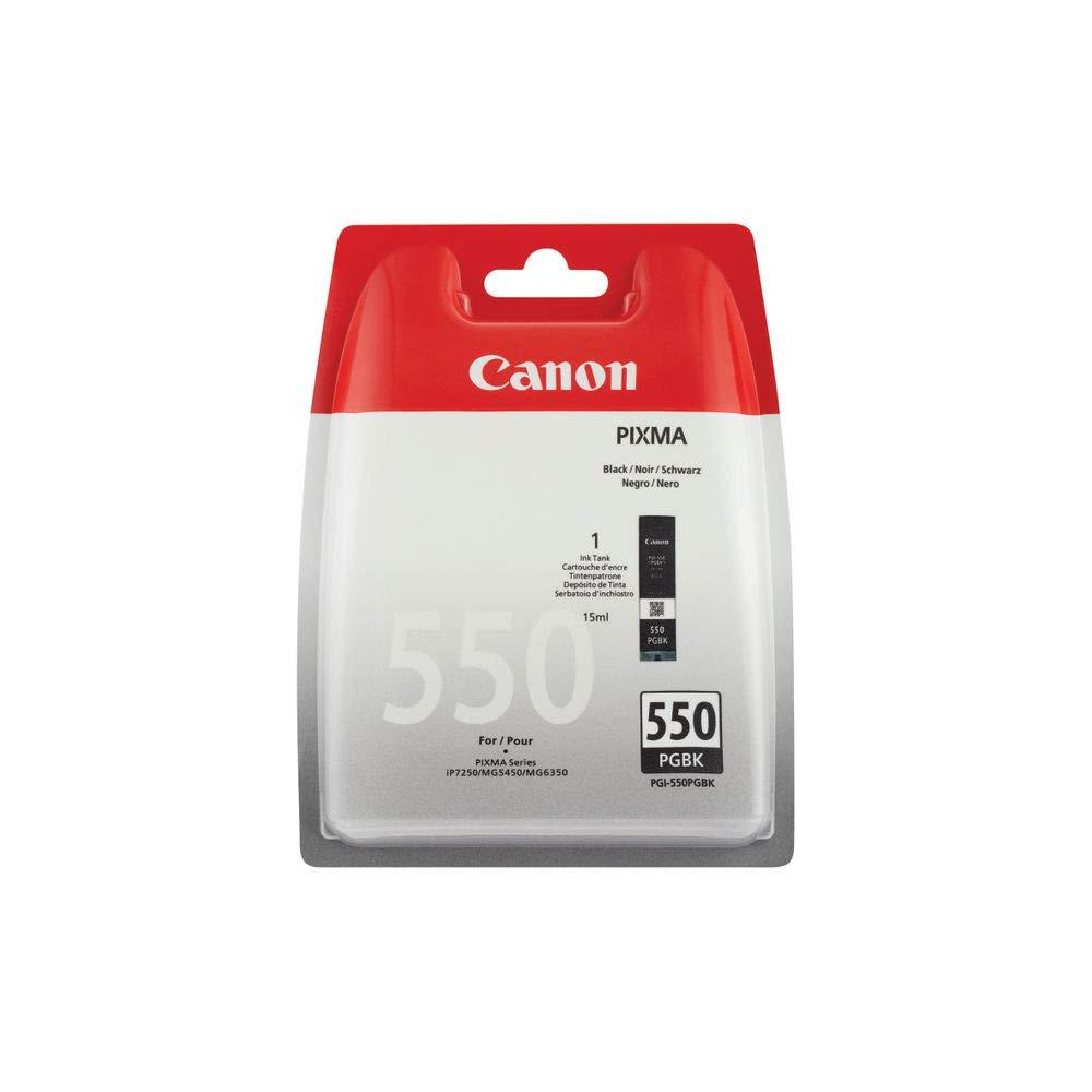 Canon PGI-550 Cartucho de tinta original Negro para Impresora de ...