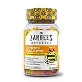 Zarbee's Naturals Children's Multivitamin Gummies, Ages 4+, Natural Fruit Flavors, 110 Count
