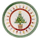 Christopher Radko IT'S CHRISTMAS PLATE Ceramic Christmas Home Holidays Country