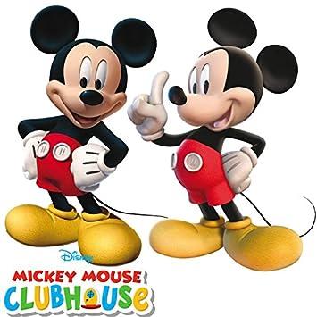 Disney – 2 figuras de Mickey Mouse para cumpleaños ...