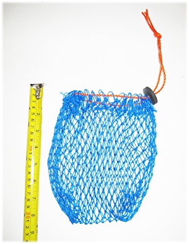 Kufa Vinyl beschichtet Crab Trap Accessory Kit (100 bleifrei sinkend Line, Clipper, Köder Tasche & 27,9 cm Float)