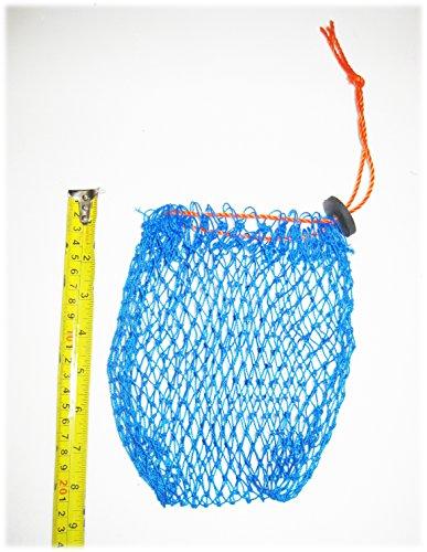Kufa Vinyl beschichtet Crab Trap Accessory Kit (100bleifrei sinkend Line, Clipper, Köder Tasche & 27,9cm Float)