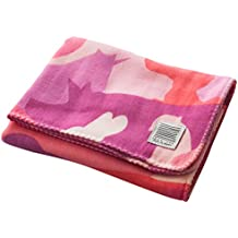 [ikue] Japanese Quality 100% Pure Cotton Baby Towel S Sized - ANIMAL CAMO PINK [Japan Import]