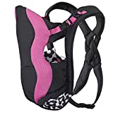 Evenflo Breathable Carrier Marianna, Pink, Black, White