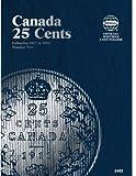25 Cent Canadian Folder Vol. 2 (Official Whitman Coin Folder)