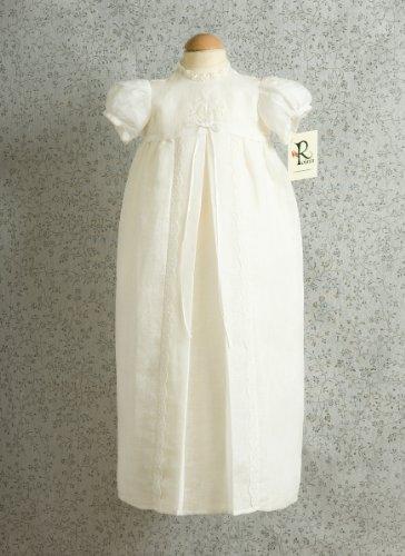 100% lino bautizo vestidos de novia, hecho a mano en Irlanda ...