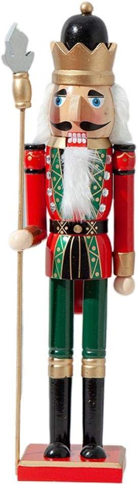 50Cm Natale in Legno Schiaccianoci Soldato Gioielli Decorazione della Stanza dei Bambini Ornamento Regalo di Natale Artigianato Schiaccianoci Puppet