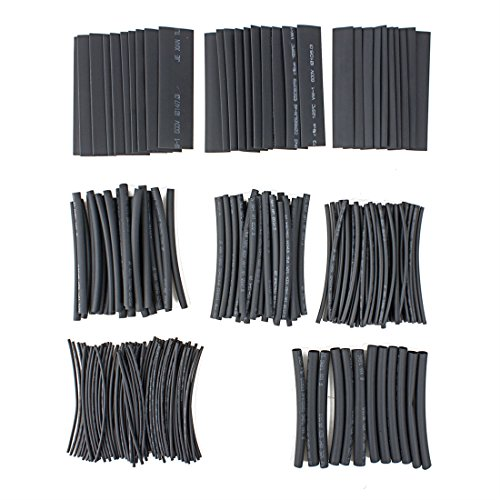 uxcell 218Pcs Shrinking Tubing Sleeving