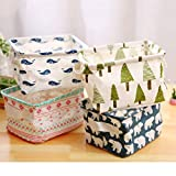 wellhouse 4 Pack Small Whale Non-Woven Storage