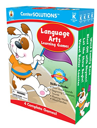 Carson-Dellosa Publishing Language Arts Learning Games, Grade (Centersolutions Language Arts)