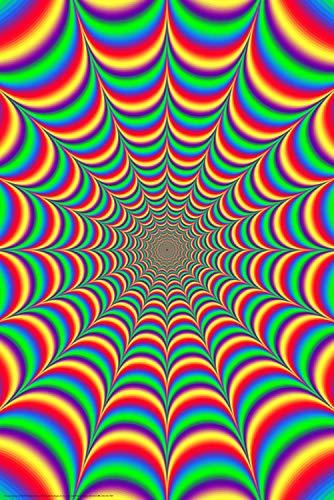 Laminated Fractal Illusion 2.0 Poster Print - 24x36
