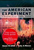 The American Experiment, Steven M. Gillon and Cathy D. Matson, 0395677513