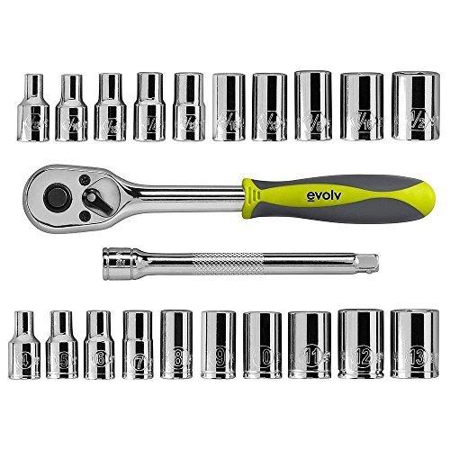 Craftsman Evolv 22 pc 1/4 inch Drive Tool Set Standard