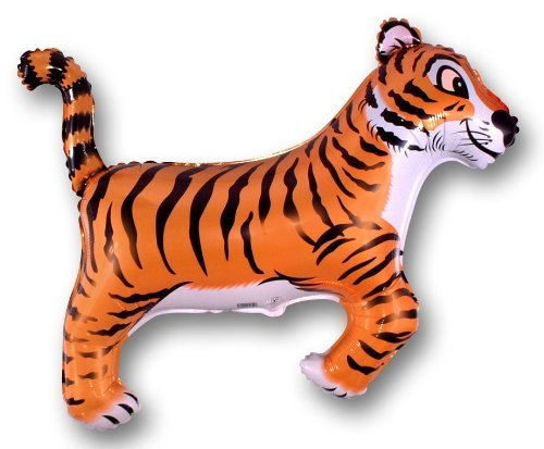 Jungle Party Tiger - Black Stripes 26