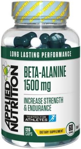 Applied Nutrition Beta Alanine Milchsäurepuffer Kraft & Ausdauer Aminosäure 120 Tabletten