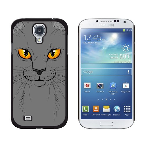 Graphics and More Grey Gray Cat Face Pet Kitty Snap-On Ha...